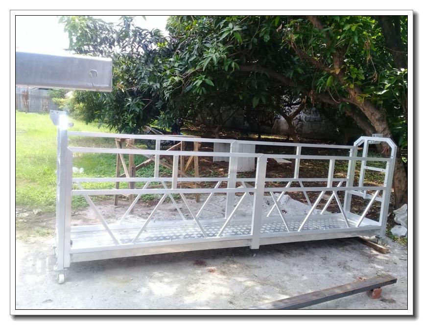 Aluminum ZLP630 suspended platform to Nigeria