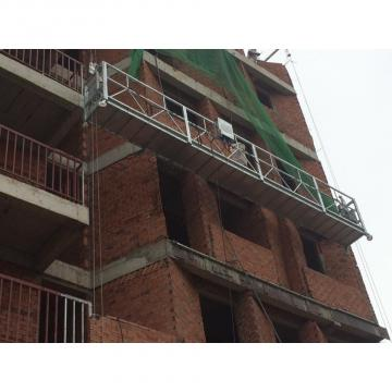 High rise building cleaning equiment aluminum temporary gondola in Indonesia