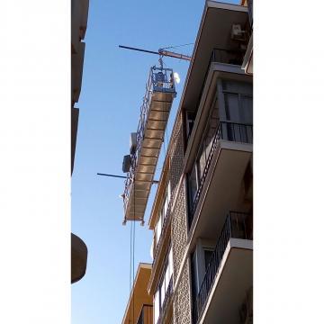 Temporary gondola ZLP630 LTD63 hoist motor in India