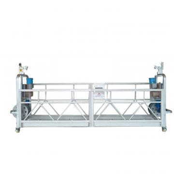 Hot galvanized steel ZLP630 electric suspended platform access lift for building window cleaning