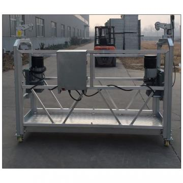 Electric modular suspended rope platform ZLP630 ZLP800 for sale