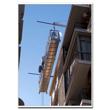 Window cleaning system galvanized steel ZLP630 ZLP800 suspended platform in China