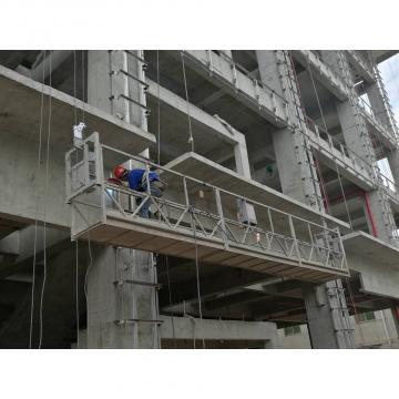 Electric Wire Rope Hoist Motor Suspended Platform For