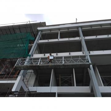 High rise building cleaning equiment aluminum gondola lift construction