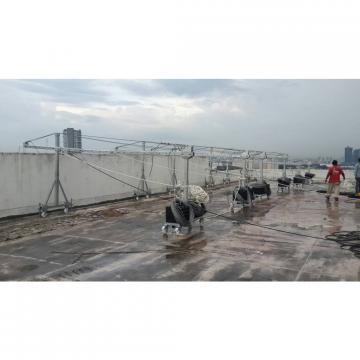 Top quality aluminum ZLP 630 electric suspended platform lift