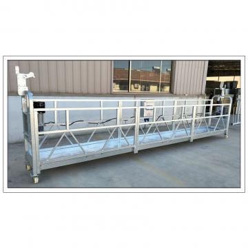 China construction aluminum ZLP630 building maintenance gondola in Malaysia