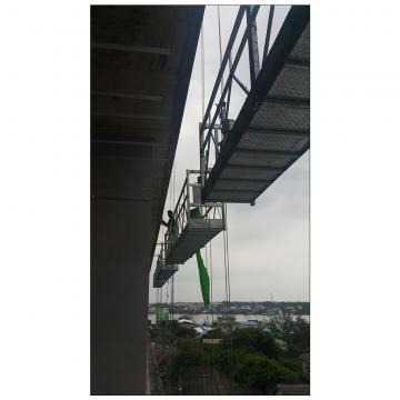 High rise window cleaning equipment aluminum temporary gondola malaysia