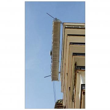 Aluminum temporary suspended platform / swing stage / cradle
