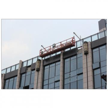 Hot dip galvanized steel ZLP800 temporary suspended working platform for building cleaning