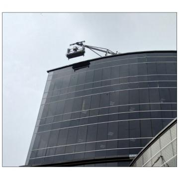 Galvanized steel 1000kg working platform gondola for building maintenance