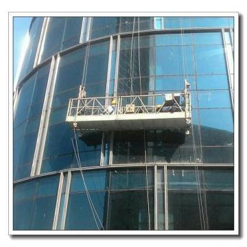 Galvanized steel ZLP800 type suspended platform for building cleaning plastering