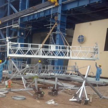Vietnam electric suspended platform temporary motorized gondola for building maintenance