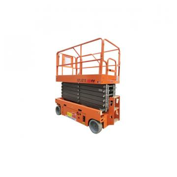 10m lifting height hydraulic self propelled scissor lift for warehouse work