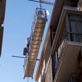 Galvanized steel ZLP630 suspended access system platform for construction